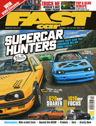 Fast Car October 18