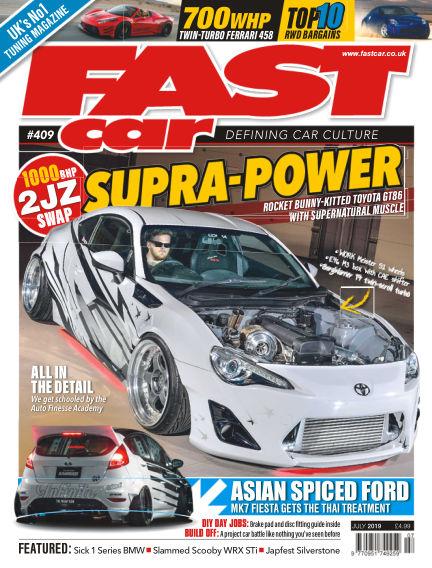 Fast Car May 23, 2019 00:00