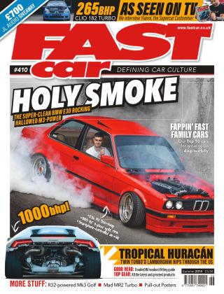 Fast Car August 2019
