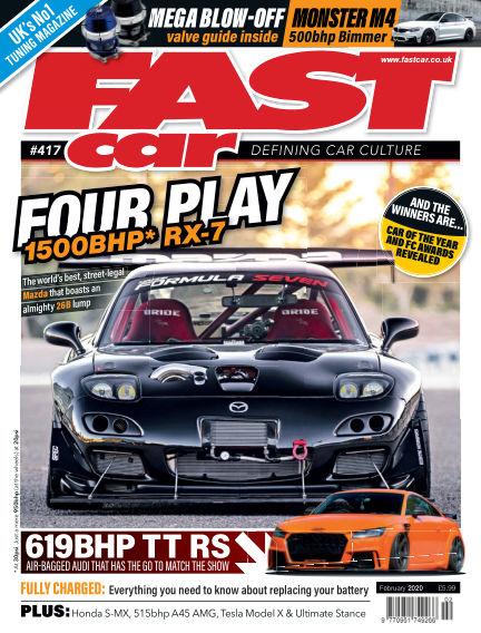 Fast Car January 06, 2020 00:00