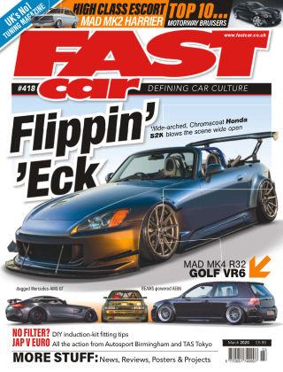 Fast Car March 2020