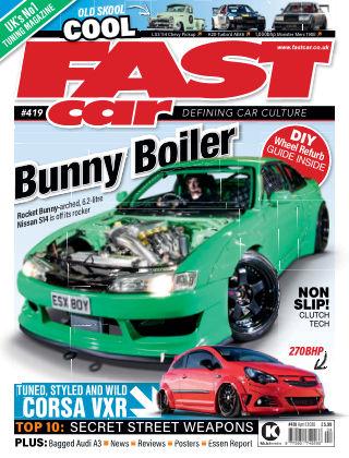 Fast Car April 2020