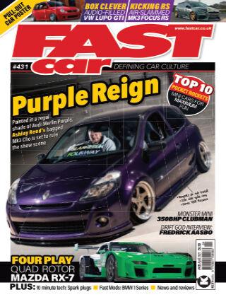 Fast Car April 2021