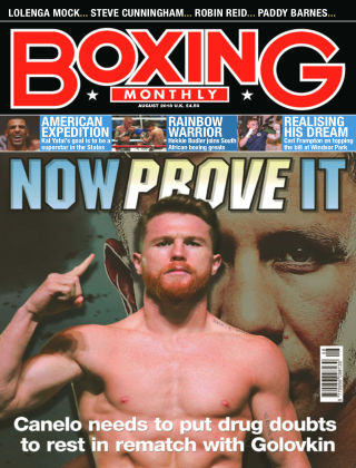 Boxing Monthly August 18