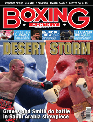 Boxing Monthly September 2018