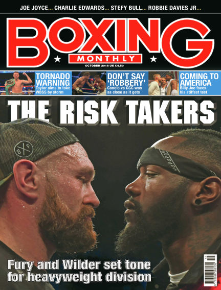 Boxing Monthly October 01, 2018 00:00