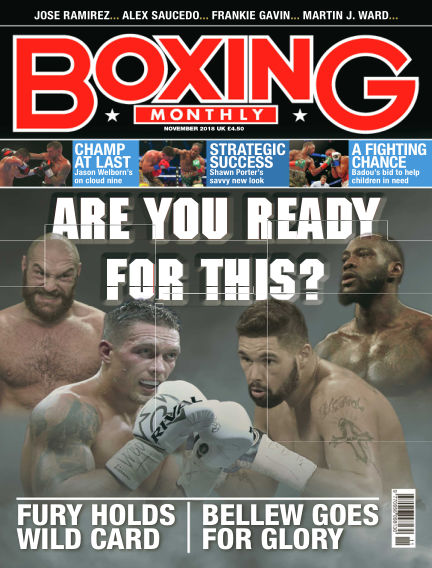 Boxing Monthly October 23, 2018 00:00