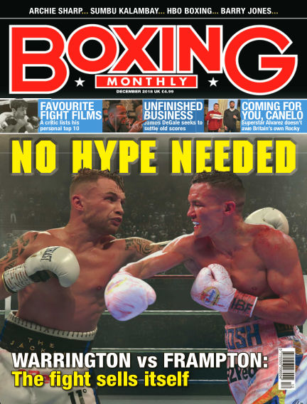 Boxing Monthly November 29, 2018 00:00