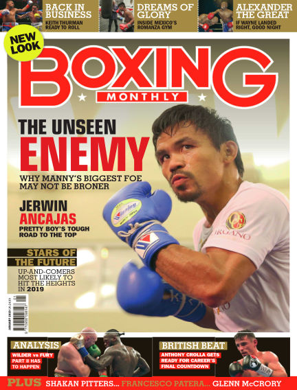 Boxing Monthly December 27, 2018 00:00
