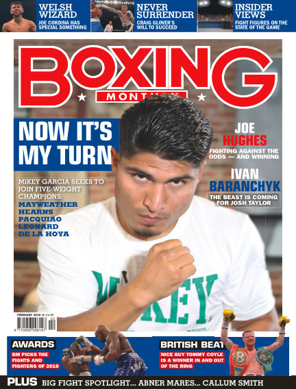 Boxing Monthly January 29, 2019 00:00
