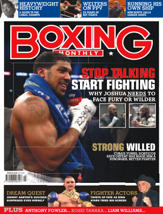 Boxing Monthly April 2019