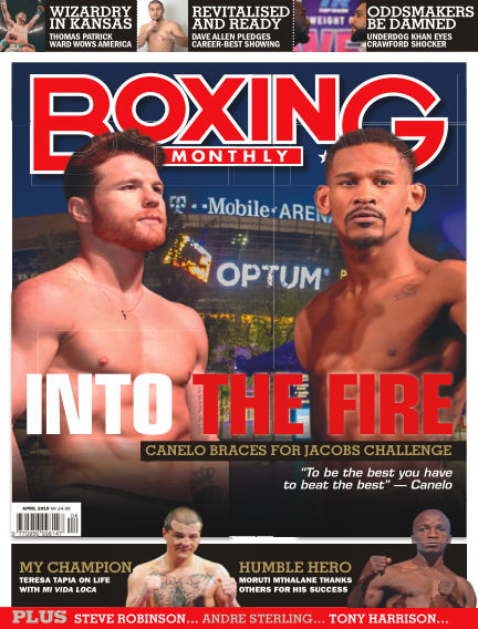 Boxing Monthly March 26, 2019 00:00