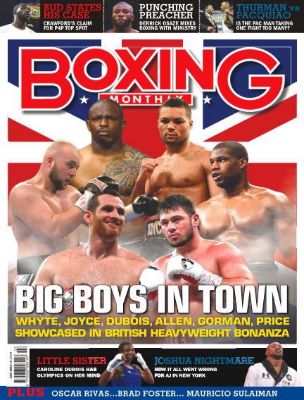 Boxing Monthly June 27, 2019 00:00