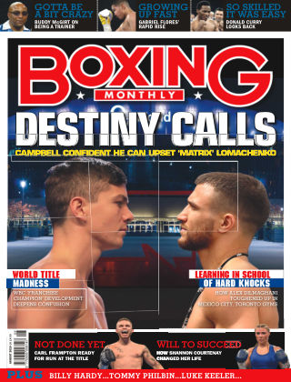 Boxing Monthly August 2019