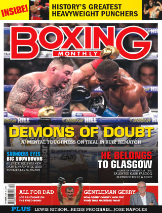 Boxing Monthly October 2019