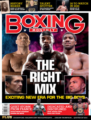 Boxing Monthly January 2020