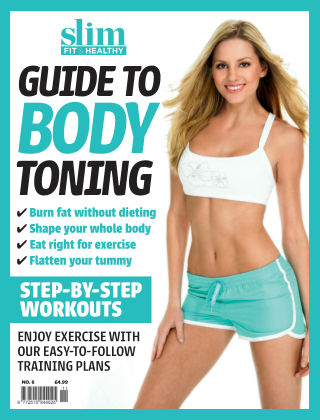 Slim Fit & Healthy Bookazine Series No.6 - Body Toning
