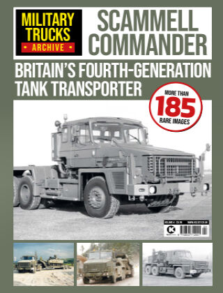 Military Trucks Archive Scammell Commander