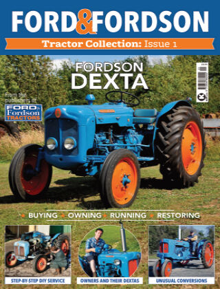 Ford & Fordson Tractor Collection Fordson Dexta
