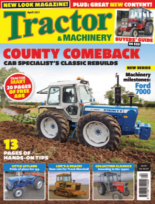 Tractor and Machinery April 2021