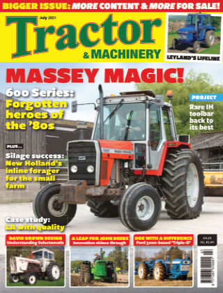 Tractor and Machinery July 2021
