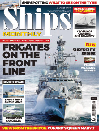 Ships Monthly August 2020