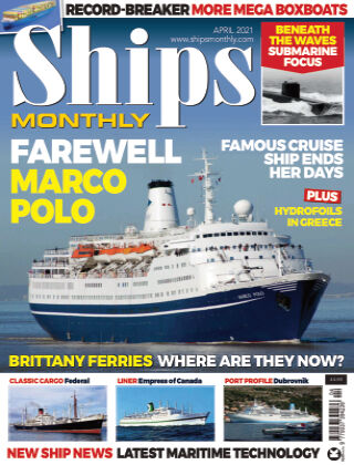 Ships Monthly April 2021