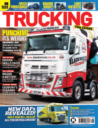 Trucking August 2021