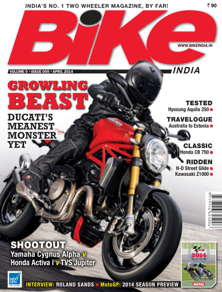 Bike India April 01, 2014 00:00