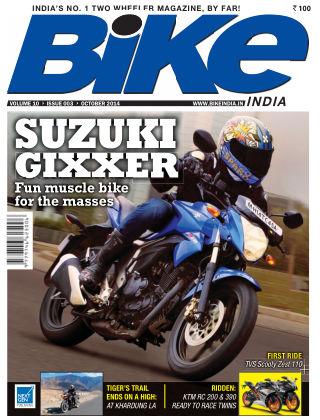 Bike India October 2014