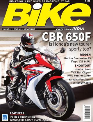 Bike India October 2015