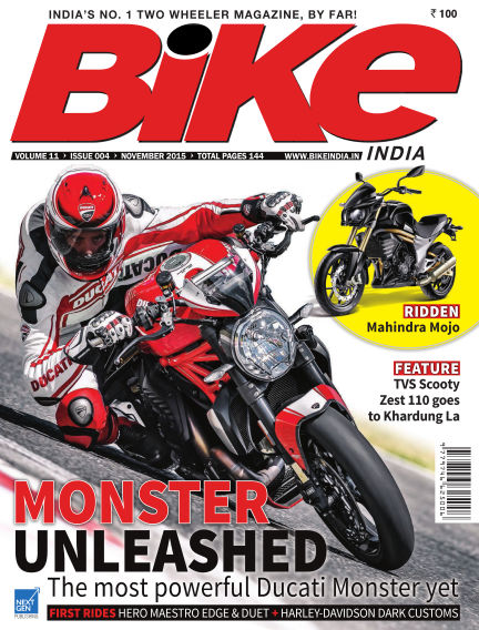 Bike India November 04, 2015 00:00