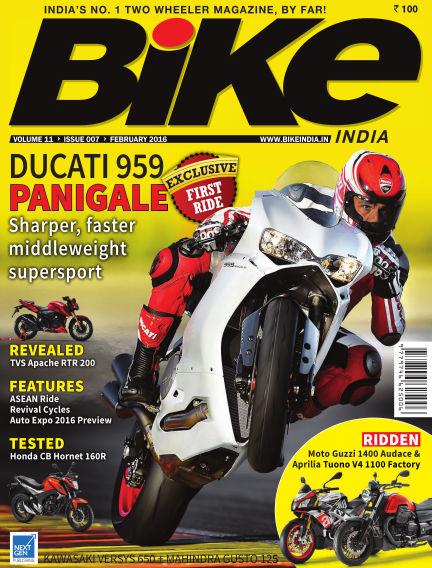 Bike India February 01, 2016 00:00