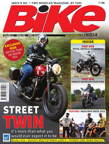 Bike India March 30, 2016 00:00
