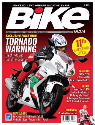 Bike India August 2016