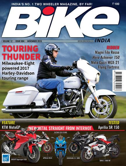 Bike India November 06, 2016 00:00