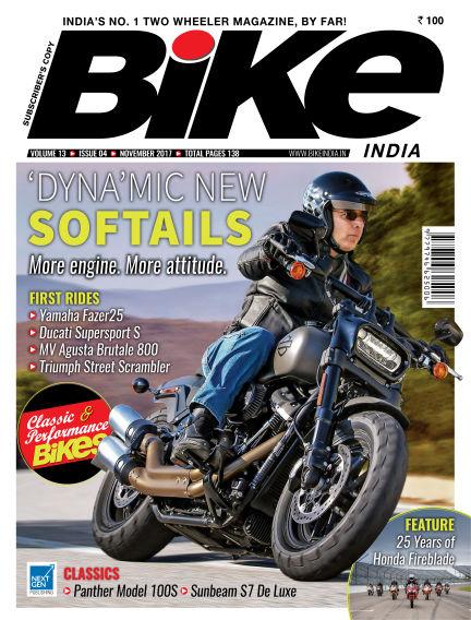 Bike India October 31, 2017 00:00
