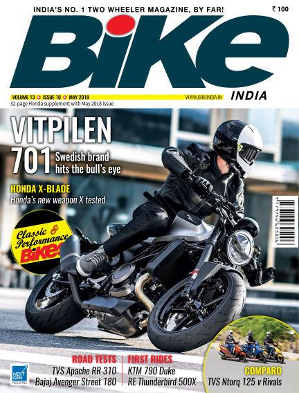 Bike India April 30, 2018 00:00