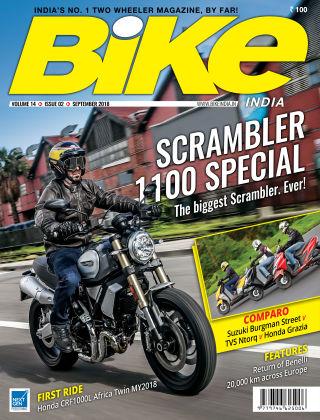 Bike India Sept 2018