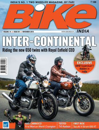 Bike India Nov 2018