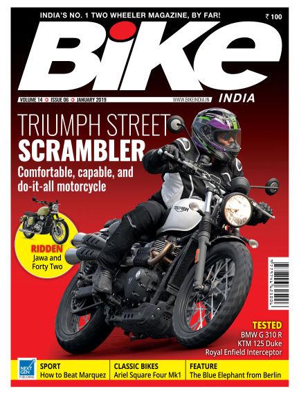 Bike India January 02, 2019 00:00