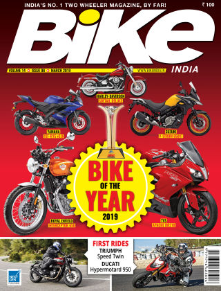 Bike India March 2019