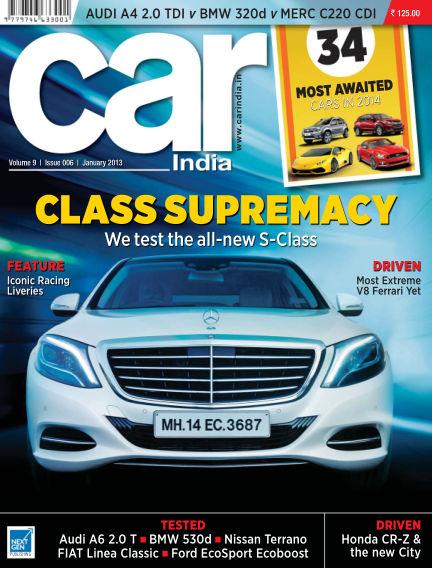 Car India December 31, 2013 00:00