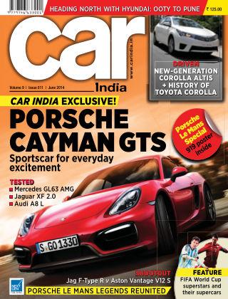 Car India June 2014