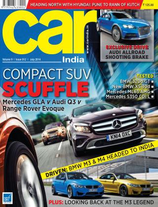 Car India July 2014