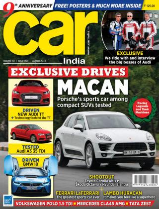 Car India August 2014