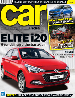 Car India September 2014