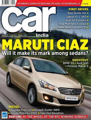 Car India October 2014
