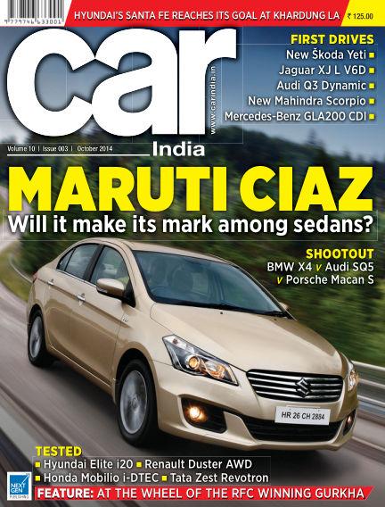 Car India October 03, 2014 00:00