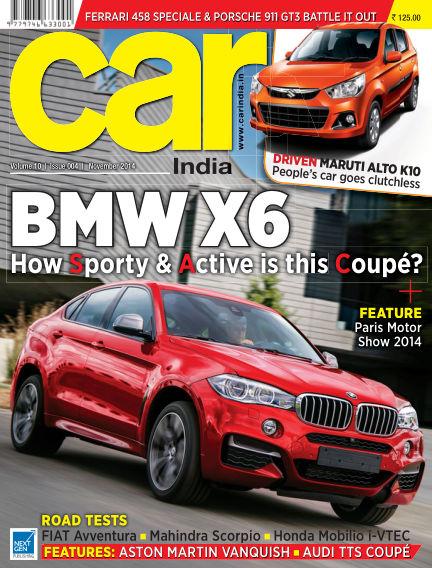 Car India October 31, 2014 00:00